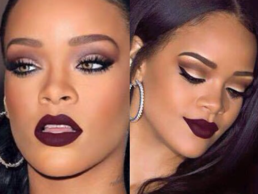 riri makeup look