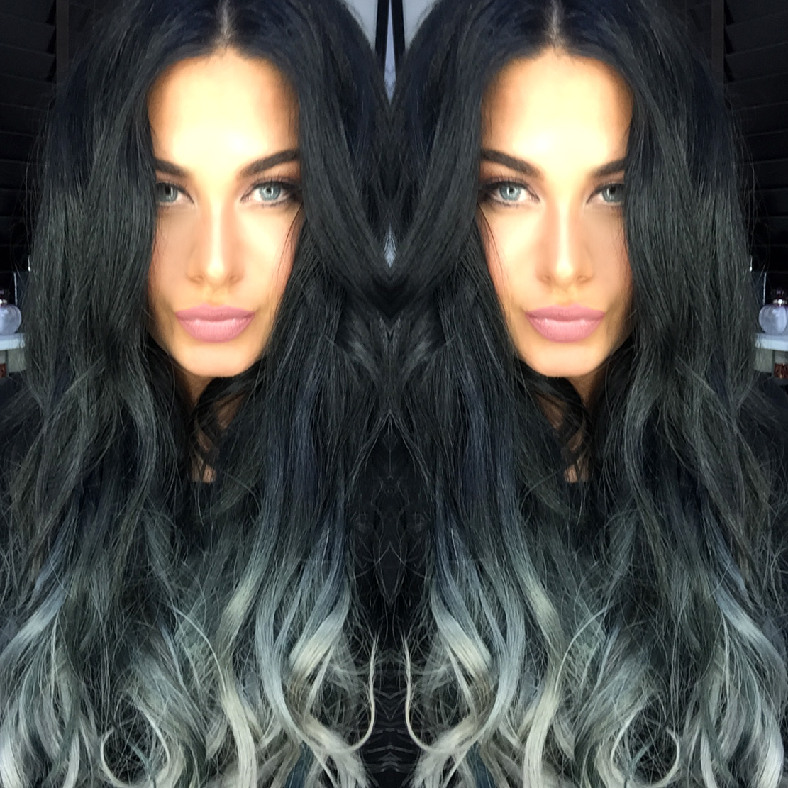 how to get silver hair from black