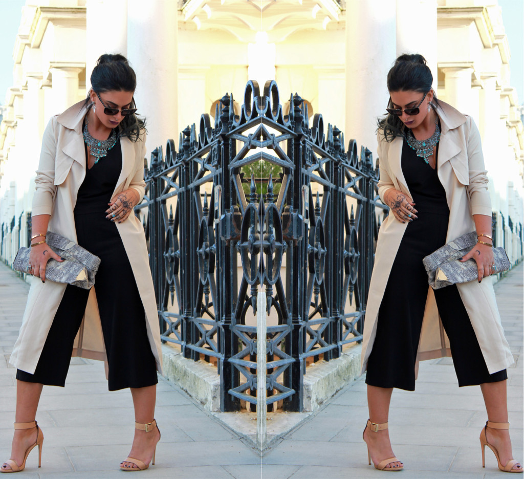 jumpsuit coat double